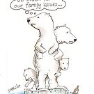 So much for our family values by Gary Shaw