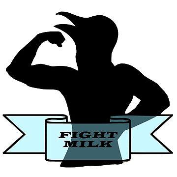 Fight milk by nindykodriah