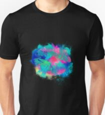 Kiss lips colorful Unisex T-Shirt