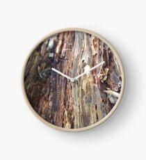 Wood nature beauty Clock