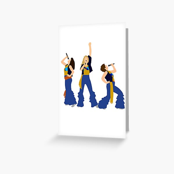 Donnna and the Dynamos Young Greeting Card