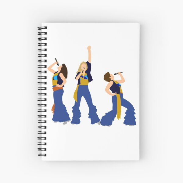 Donnna and the Dynamos Young Spiral Notebook