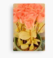Fake Flowers Series Canvas Print