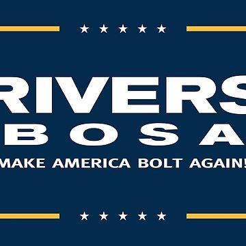 Make America Bolt Again by MusashinoSports