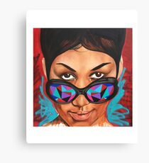 QUEEN OF SOUL Canvas Print