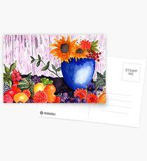 Still Life Watercolour Postcards