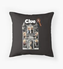 Clue: The Movie Throw Pillow