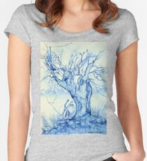 A tree in the veld Women's Fitted Scoop T-Shirt