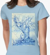 A tree in the veld Women's Fitted T-Shirt