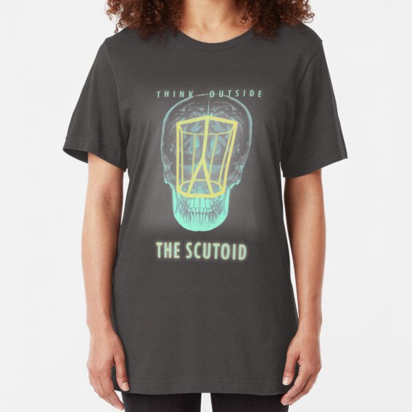 Think Outside the Scutoid Slim Fit T-Shirt