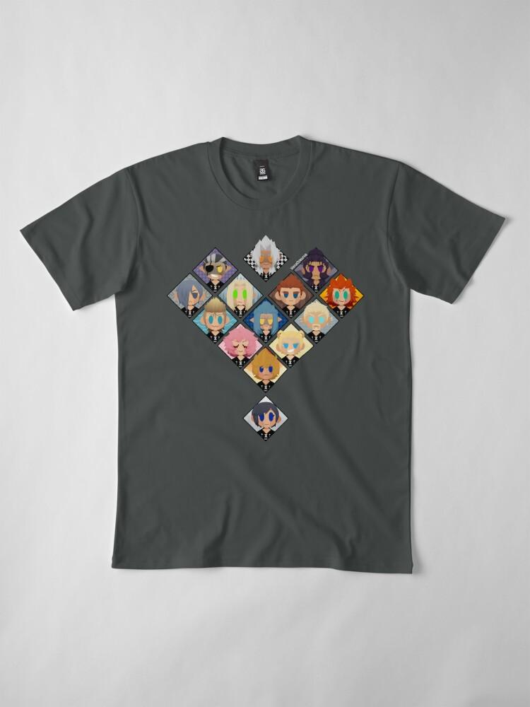 Alternative Ansicht von Organisation Herz Premium T-Shirt