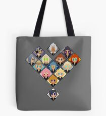 Organisation Herz Tote Bag