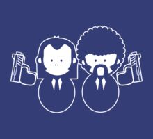 Pulp Fiction Vince & Jules Cartoons