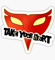 Crow Mask Sticker