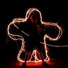 Sparkler by Ron  Wilson