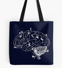 Climbing On The Brain Tote Bag