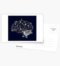 Climbing On The Brain Postcards