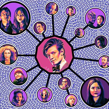 11th Doctor Character Weave by jephwho