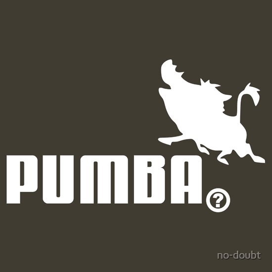 TShirtGifter presents: Pumba, Lion King vs. Puma