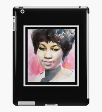 Queen in Watercolor - Black iPad Case/Skin