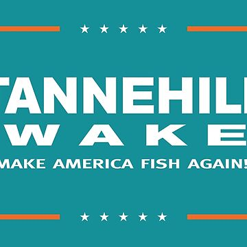 Make America Fish Again by MusashinoSports