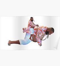DJ Khaled Riding Himself Poster