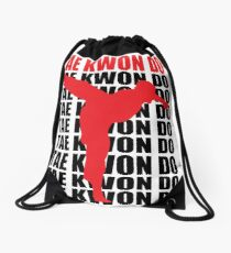 Tae Kwon Do Drawstring Bag
