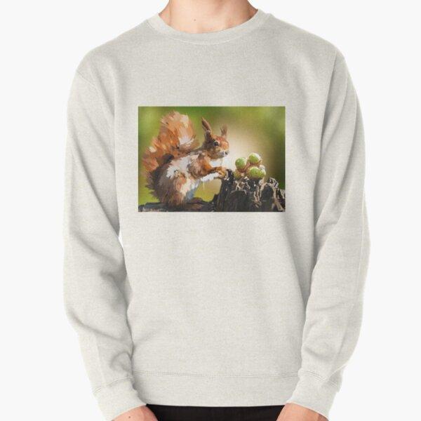 It's squirrel time! Pullover Sweatshirt