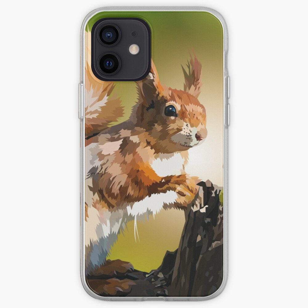 It's squirrel time! iPhone Case & Cover