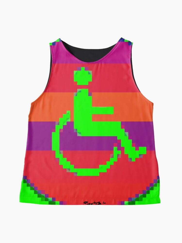 Alternate view of Handicap and singularity 7/99 Sleeveless Top