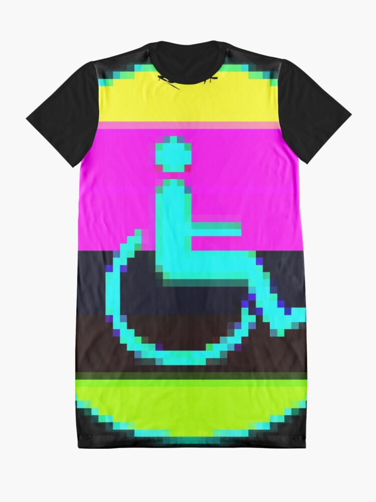 Alternate view of Handicap and singularity VI by RootCat and marie b. Graphic T-Shirt Dress