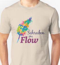 Schreibrausch - Schreiben im Flow Unisex T-Shirt