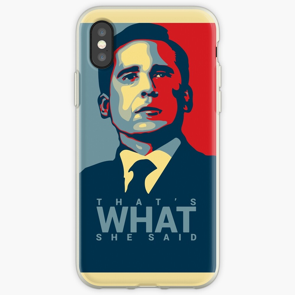 That's What She Said - Michael Scott - The Office US iPhone Case & Cover