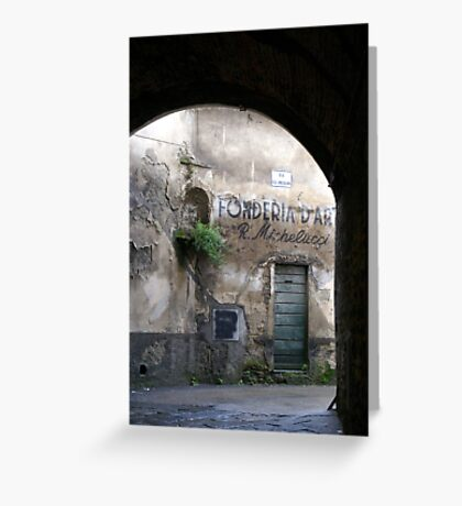End of the Tunnel Greeting Card