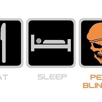 Peaky Blinders by Eye Voodoo - Eat Sleep Repeat mk1 by eyevoodoo