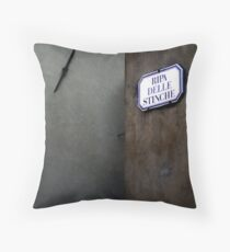 Ripa delle Stinche Throw Pillow