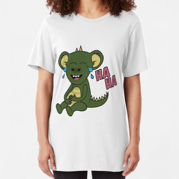 Monstapals It's Funny Slim Fit T-Shirt
