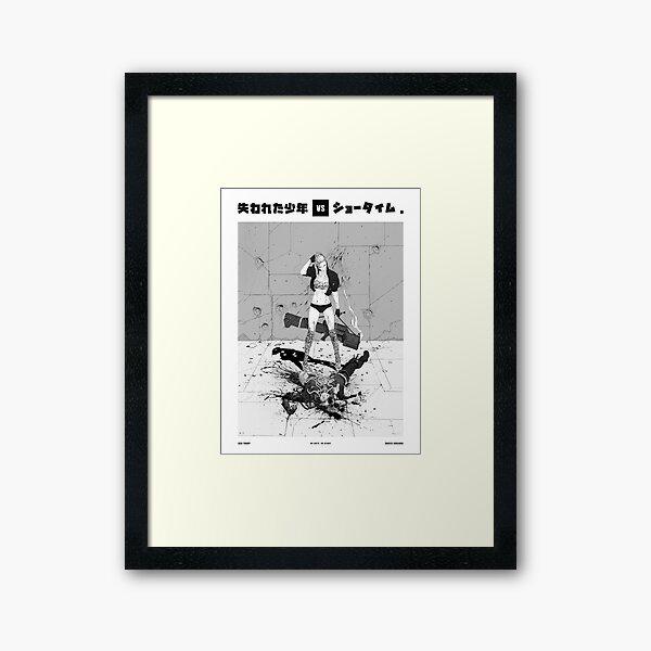 LBXST - PONYTAIL Framed Art Print