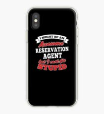 RESERVATION AGENT T-shirts, i-Phone Cases, Hoodies, & Merchandises iPhone Case