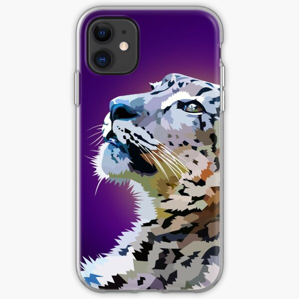Snow Leopard iPhone Soft Case