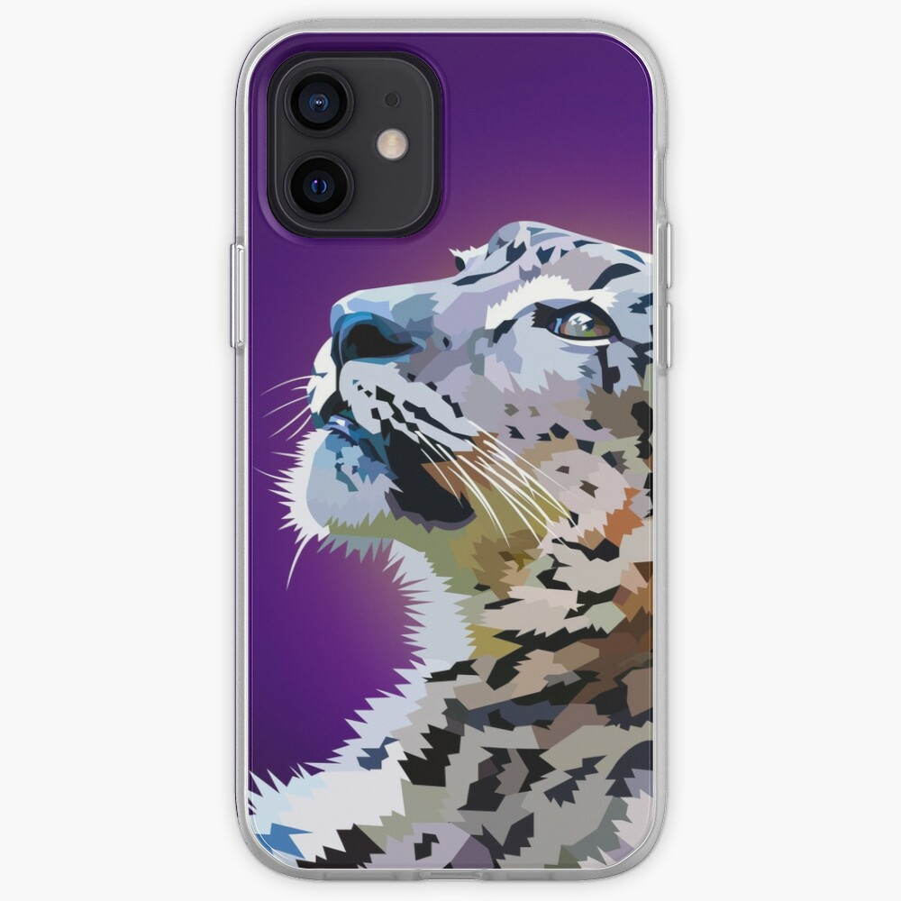 Snow Leopard iPhone Case & Cover