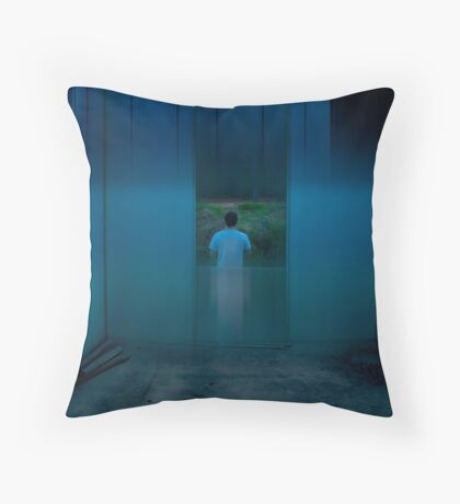 urb reverberation #8 (The Blue Room) Throw Pillow