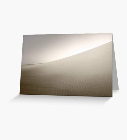 Dusk At The Dunes  Greeting Card