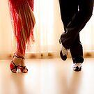 Tango Dance. Latin american dance. by GemaIbarra