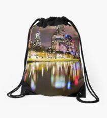 Melbourne icons Drawstring Bag