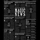 The Daily Mage Fantasy Newspaper II by GrandeDuc
