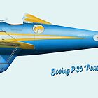 Boeing P-26 'Peashooter' by Spyinthesky