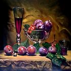 plum and wine by Hidemi Tada
