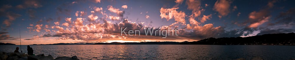 Fishermans' delight by Ken Wright