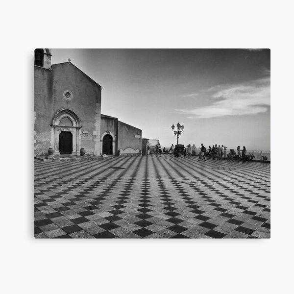 Impressioni in bianco e nero  Canvas Print
